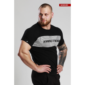 TW T-SHIRT 053 PATTERN BLACK