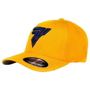 FULLCAP 015 - BLACK LOGO - YELLOW