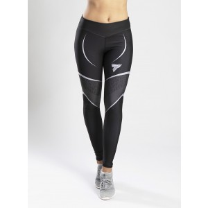 LEGGINGS TRECGIRL 35 OPTI BLACK GREY