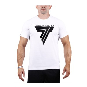 T-SHIRT - PLAY HARD 001 - WHITE