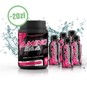 Amino EAA 300g + 5 szt BCAA HS 100 ml
