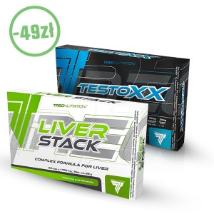 TESTOXXX + LIVER STACK Gratis