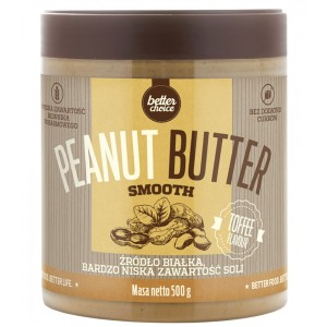 PEANUT BUTTER SMOOTH -PET- 500G - TOFFEE Toffee