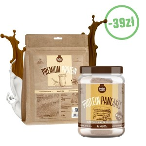 Białko Premium Protein 750g + Protein Pancake 525g