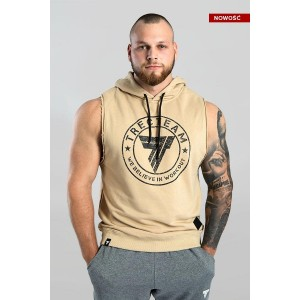 SLEEVELESS 002 TRECTEAM BEIGE