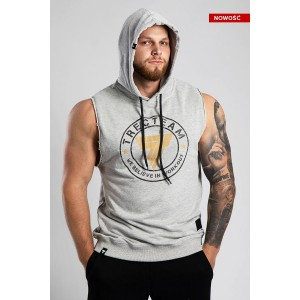 SLEEVELESS 003 TRECTEAM GREY MELANGE