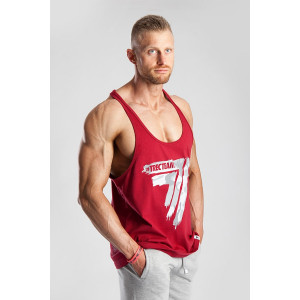 STRINGER 12 - CAMO - DARK RED