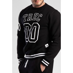 SWEATSHIRT 020 - TREC 00 - BLACK