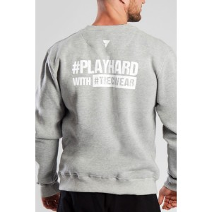 SWEATSHIRT 030 - PLAYHARD - GRAY