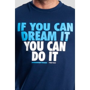T-SHIRT 036 - IF YOU CAN - NAVY