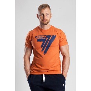 T-SHIRT - PLAY HARD 008 - ORANGE