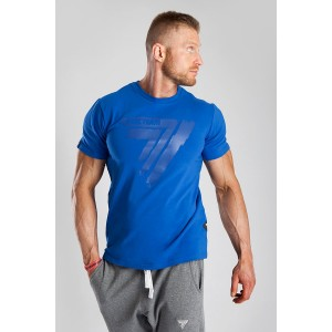 T-SHIRT - PLAY HARD 016 - BLUE