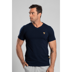 T-shirt V-Neck Trec 03 Navy