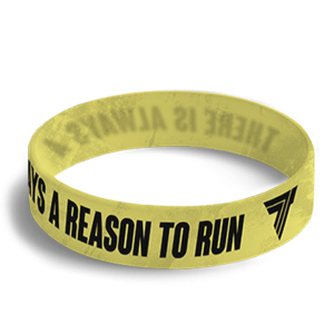 WRISTBAND 037 - REASON TO RUN