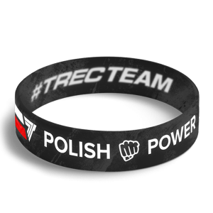 WRISTBAND 051 opaska sportowa - POLISH POWER