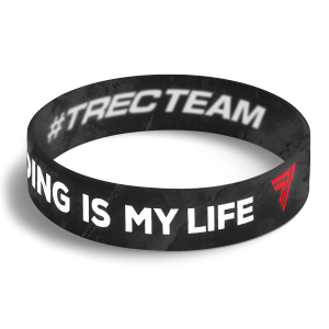 WRISTBAND 073 opaska sportowa - BODY BUILDING IS MY LIFE