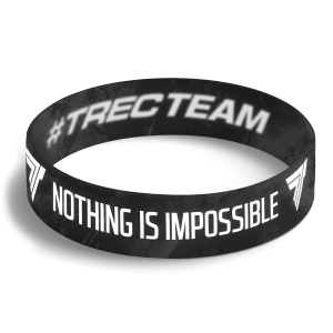 WRISTBAND 079 opaska sportowa - NOTHING IS IMPOSSIBLE