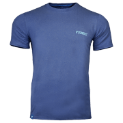 T-SHIRT - SOFT TREC 003 - BLUE