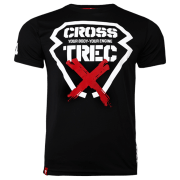 T-SHIRT - COOLTREC 012 - CROSS - BLACK