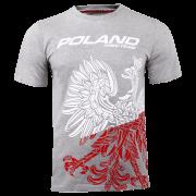 T-SHIRT 042 - TEAM POLAND - MELANGE