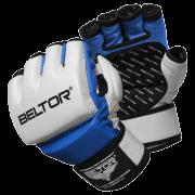 BELTOR - RĘKAWICE MMA EIGHT WHITE