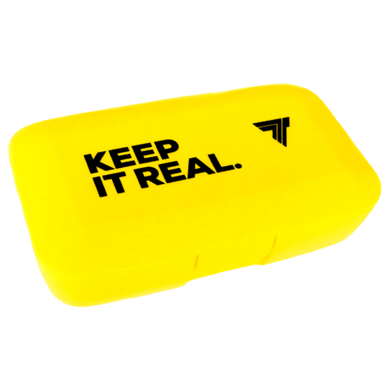 BOX FOR TABLETS - KEEP IT REAL - YELLOW