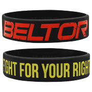 """WRISTBAND BLACK """"FIGHT FOR YOUR RIGHT"""""""