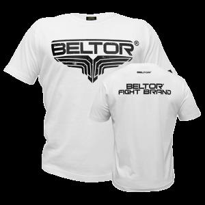 BELTOR - T-SHIRT FIGHT BRAND - CLASSIC - WHITE