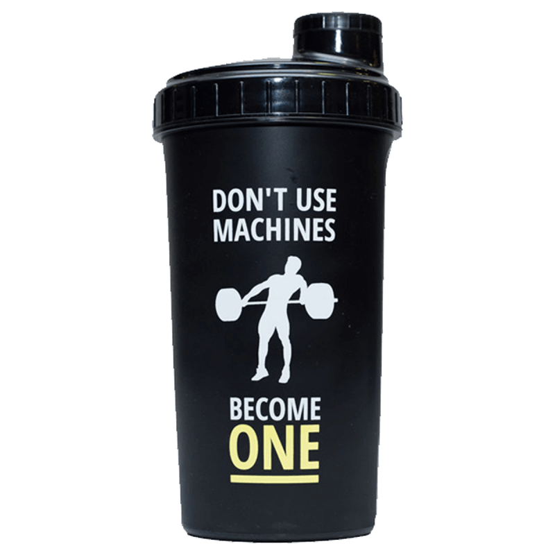 SHAKER 007 - 0,7 L - BLACK - BECOME ONE