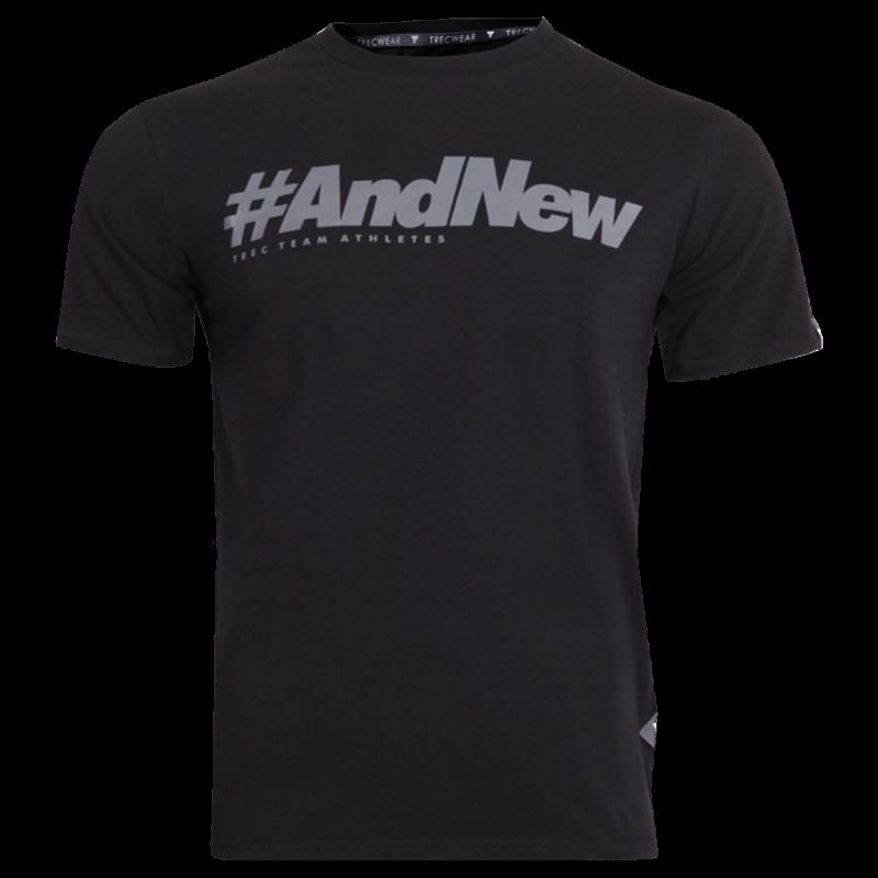 T-SHIRT 040 - #ANDNEW - BLACK