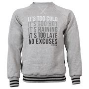 SWEATSHIRT 013 - NO EXCUSE - MELANGE