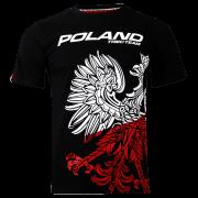 T-SHIRT 041 - TEAM POLAND - BLACK