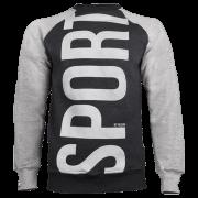 SWEATSHIRT 014 - SPORT - GRAPHITE
