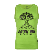 TANK TOP 008 - GROW BIG - GREEN