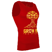 TANK TOP 007 - GROW BIG - RED