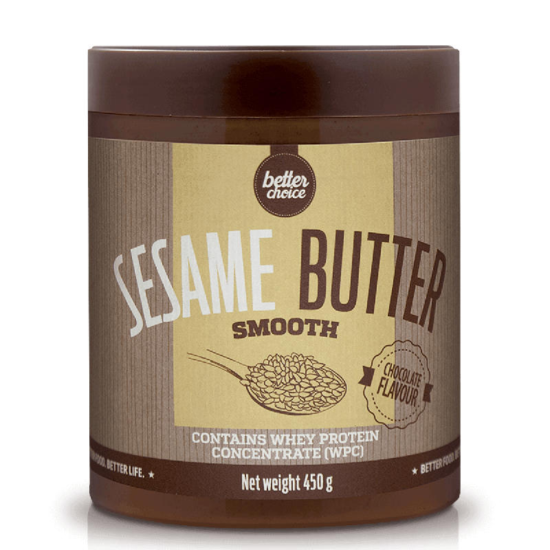 SESAME BUTTER SMOOTH -PET- 450 g - CHOCOLATE