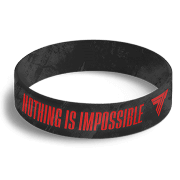 WRISTBAND 042 - NOTHING IS IMPOSSIBLE