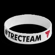 WRISTBAND 047 - #TRECTEAM - WHITE