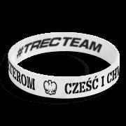 WRISTBAND 054 - CZESC I CHWALA BOHATEROM - WHITE