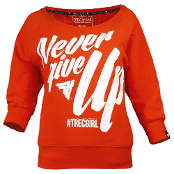 SWEATSHIRT - TRECGIRL 001 - ORANGE