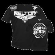 BELTOR - T-SHIRT OCTAGON BLACK