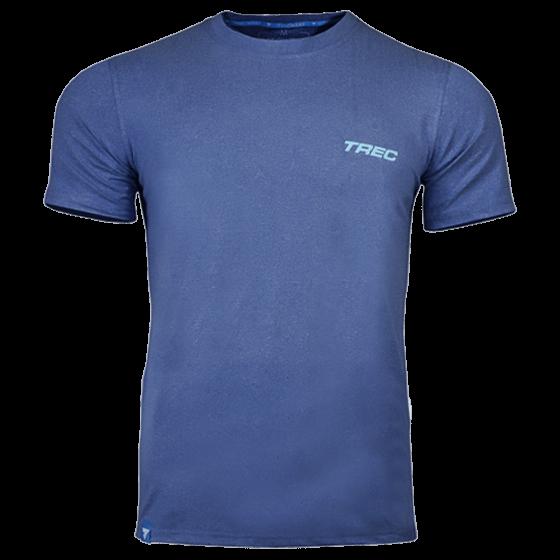 T-SHIRT - SOFT TREC 003 - BLUE