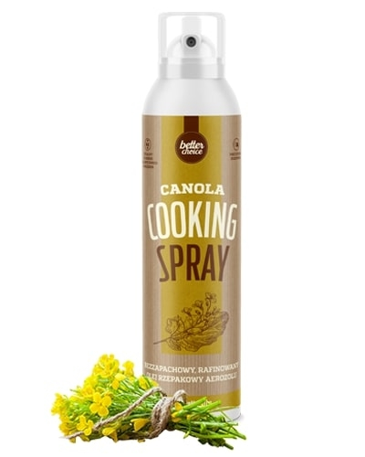 CANOLA COOKING SPRAY Glowne