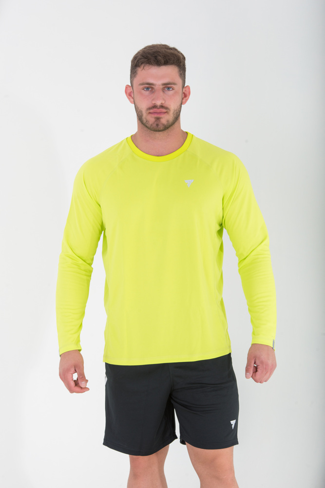 None COOLTREC 018 - LONG SLEEVE - BRIGHT GREEN Glowne