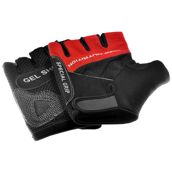 GLOVES GEL SHOCK RED Glowne