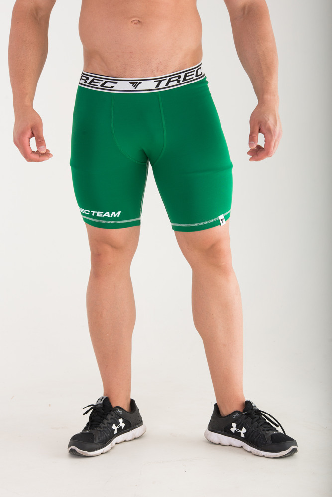 None PRO SHORT PANTS 004 - GREEN Glowne