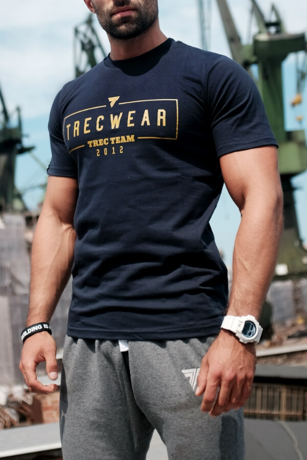 None T-SHIRT 044 - BASIC TRECWEAR - NAVY Glowne