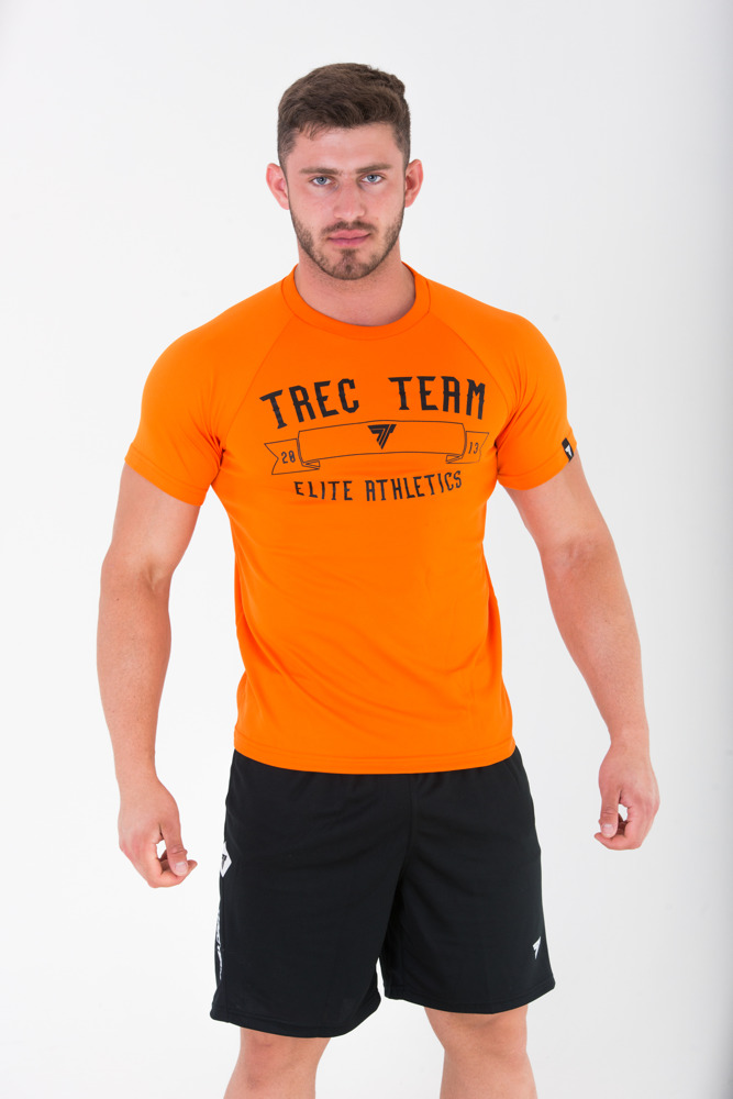 None T-SHIRT - COOLTREC 008 - ORANGE Glowne
