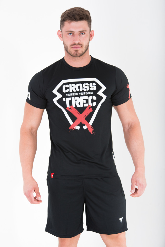 None T-SHIRT - COOLTREC 012 - CROSS - BLACK Glowne