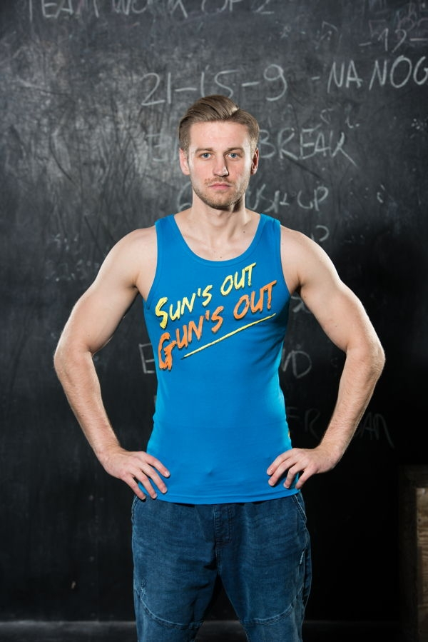 None TANK TOP 005 - SUNS - BLUE Glowne